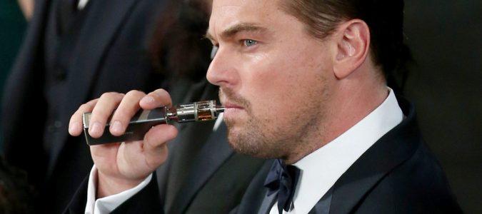 Leonardo DiCaprio cigarette électronique